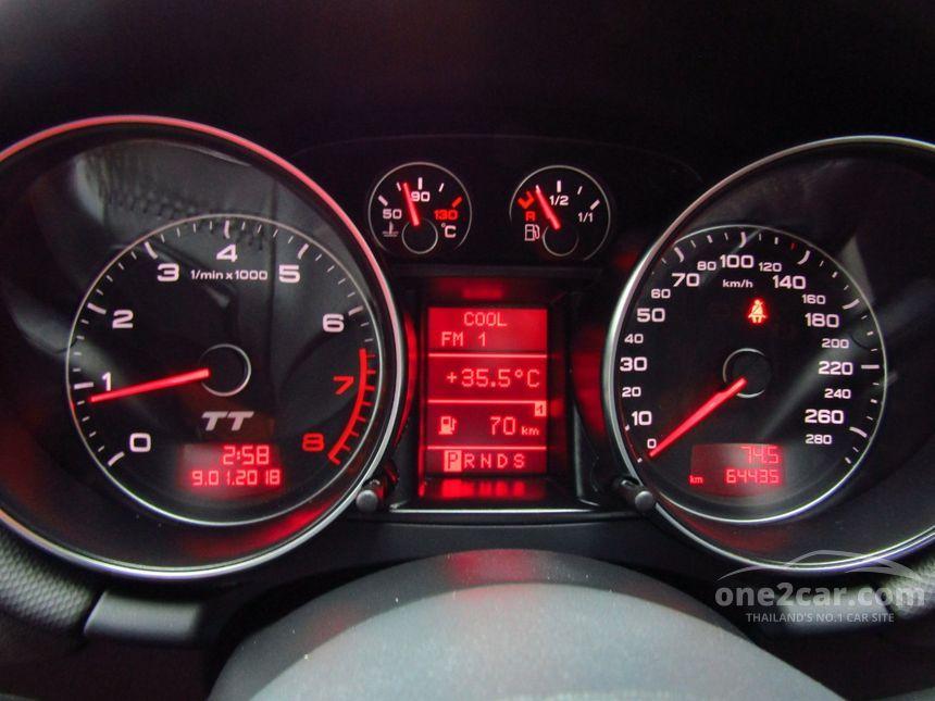 Audi TT 2008 2 0 in กรุงเทพและปริมณฑล Automatic Coupe สีดำ for 1,299,000  Baht - 4428709 - One2car com