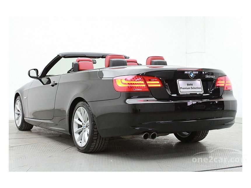 2012 BMW 325Ci Convertible
