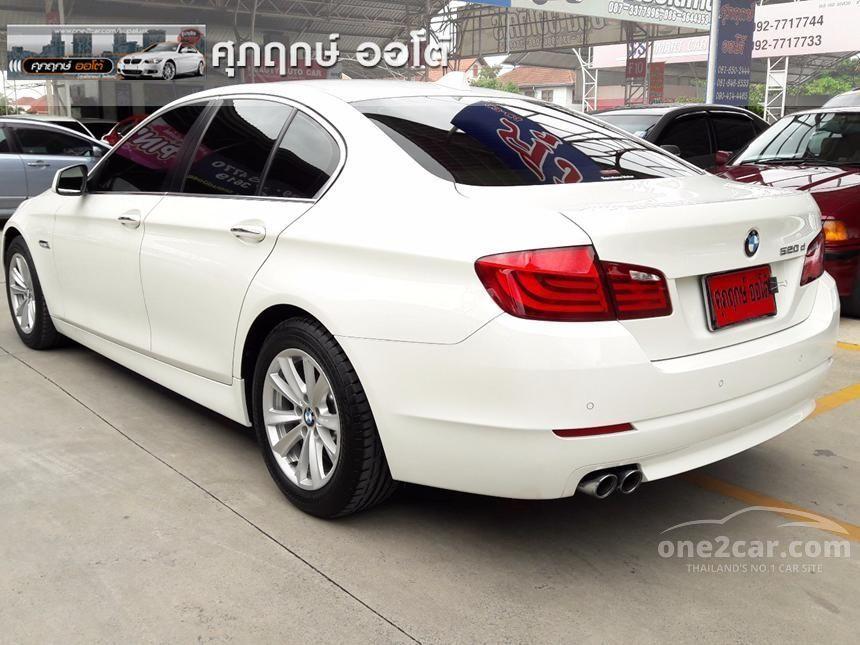 2012 BMW 520d Sedan