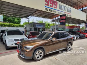 2011 BMW X1 2.0 E84 (ปี 09-15) sDrive18i SUV AT