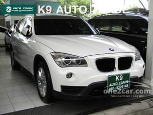 2013 BMW X1 2.0 E84 (ปี 09-15) sDrive18i SUV AT