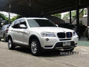 2011 BMW X3 2.0 F25 (ปี 10-16) xDrive20d Highline 4WD SUV AT