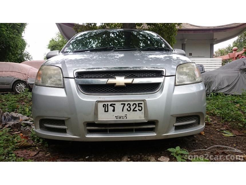 2008 Chevrolet Aveo Base Sedan