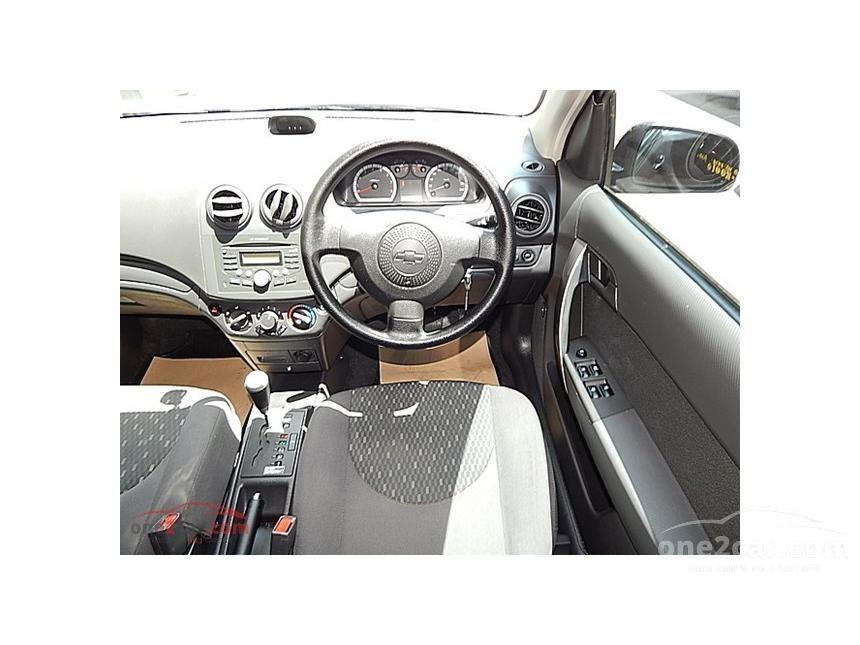 2011 Chevrolet Aveo LS CNG Sedan