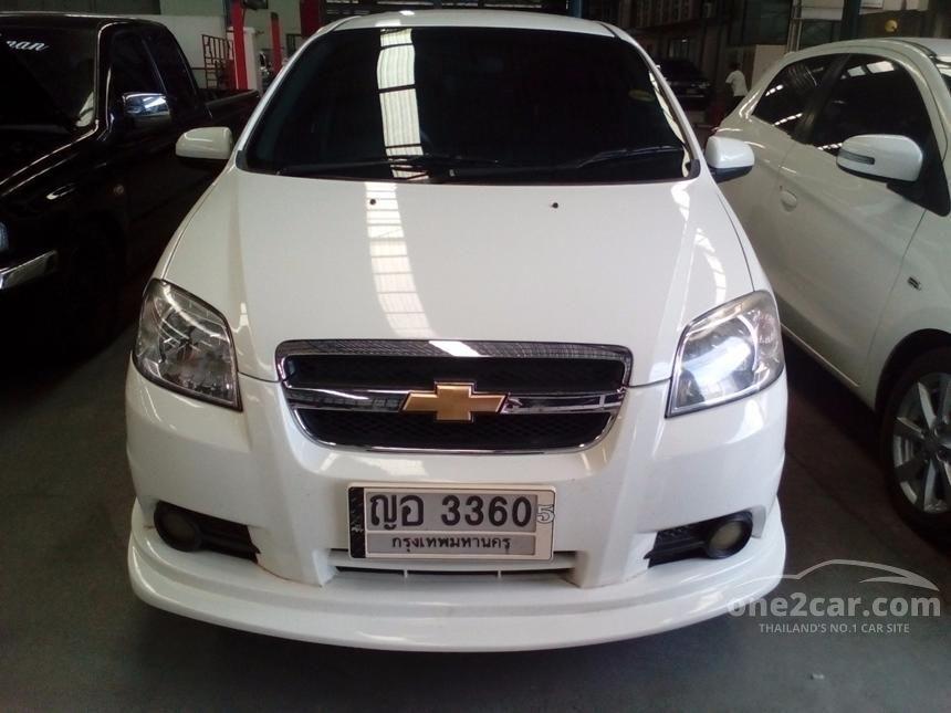 2011 Chevrolet Aveo LSX Sedan