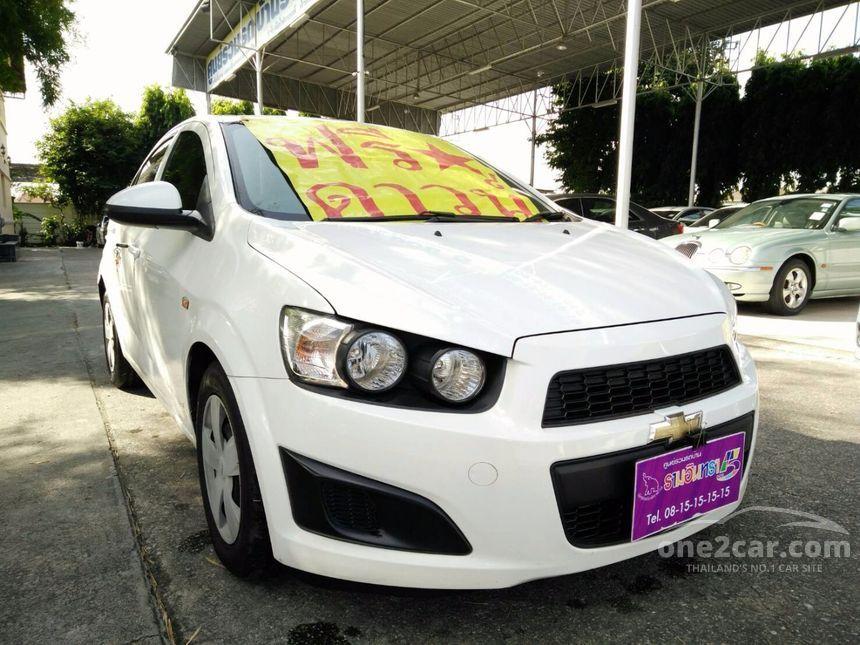 2012 Chevrolet Sonic LS Sedan