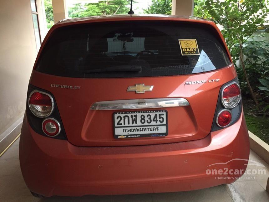 2014 Chevrolet Sonic LTZ Hatchback