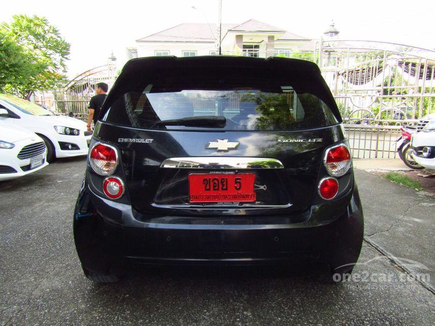 2015 Chevrolet Sonic LTZ Hatchback
