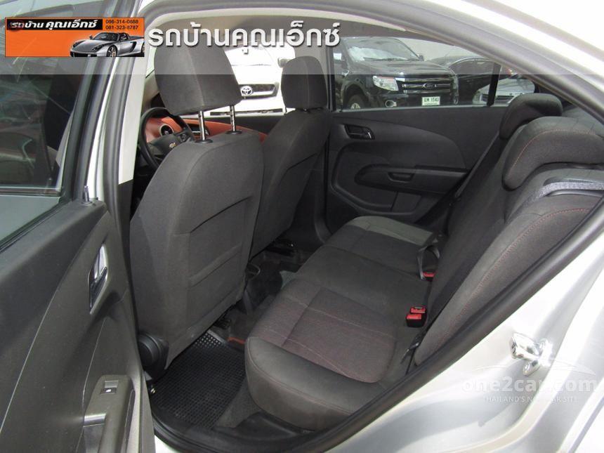 2013 Chevrolet Sonic LTZ Sedan