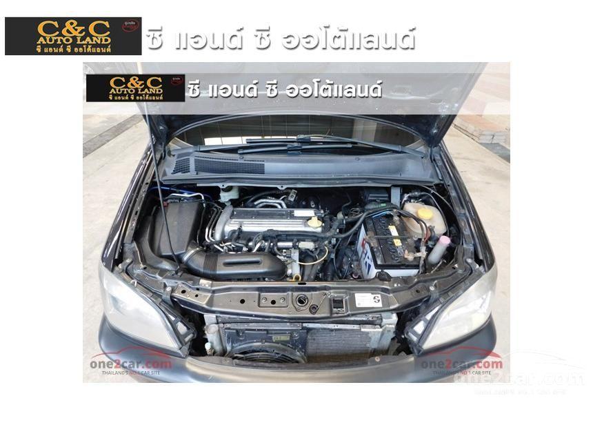2001 Chevrolet Zafira CDX Wagon