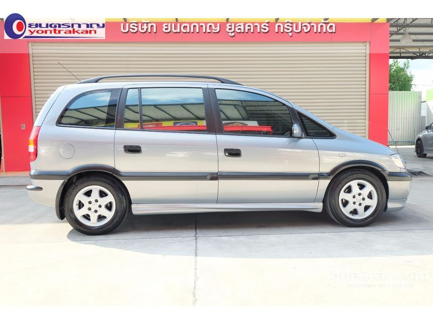 2002 Chevrolet Zafira Luxury Touring Wagon