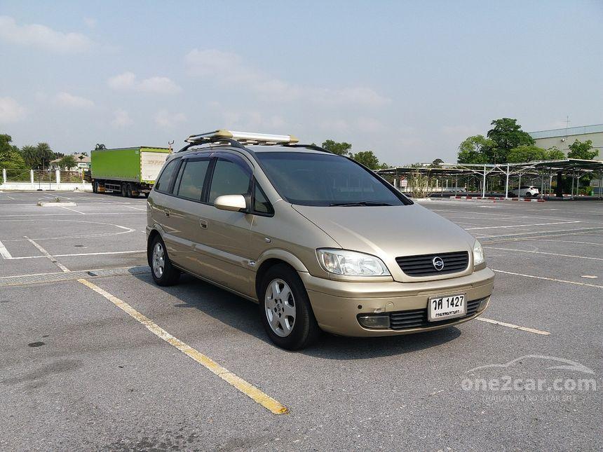 Chevrolet Zafira 2003 Luxury 22 In Automatic