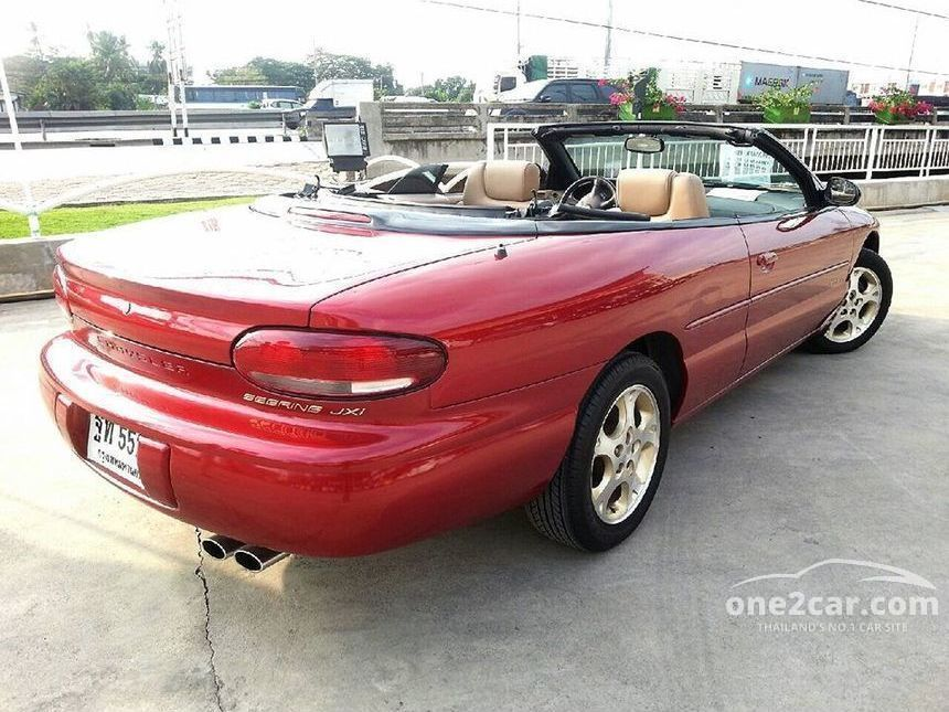 2004 Chrysler Sebring JXi Convertible
