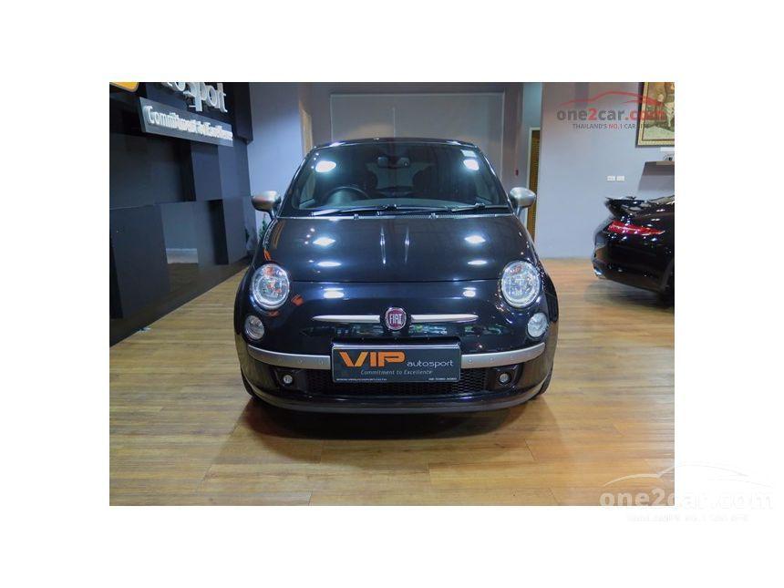 2010 Fiat 500 Limited Hatchback
