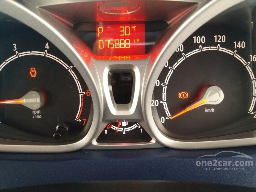 2011 Ford Fiesta Sport+ Sedan