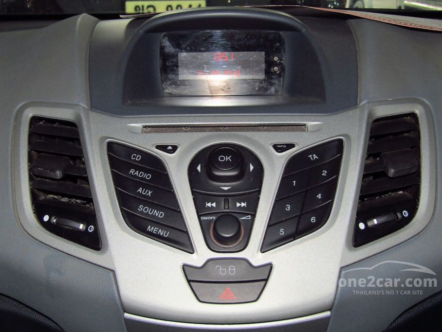 2010 Ford Fiesta Style Hatchback