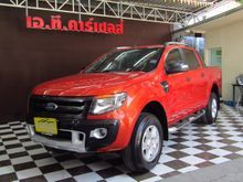 2014 Ford Ranger DOUBLE CAB (ปี 12-15) WildTrak 2.2 AT Pickup