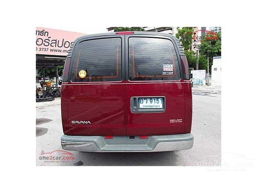 2001 GMC Savana Van
