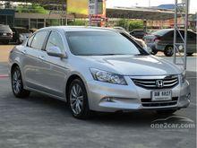 2012 Honda Accord (ปี 07-13) EL NAVI 2.4 AT Sedan