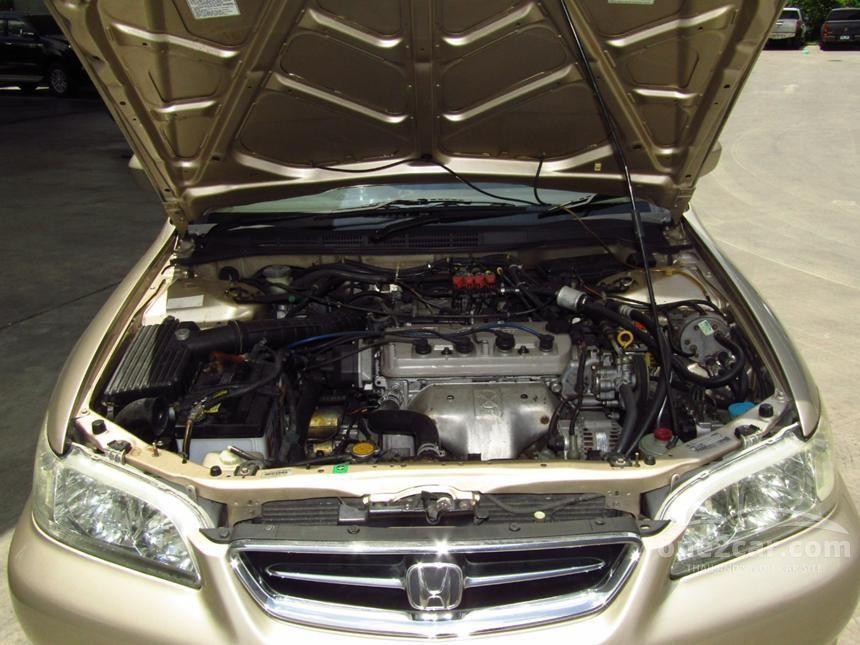 2001 Honda Accord VTi Sedan