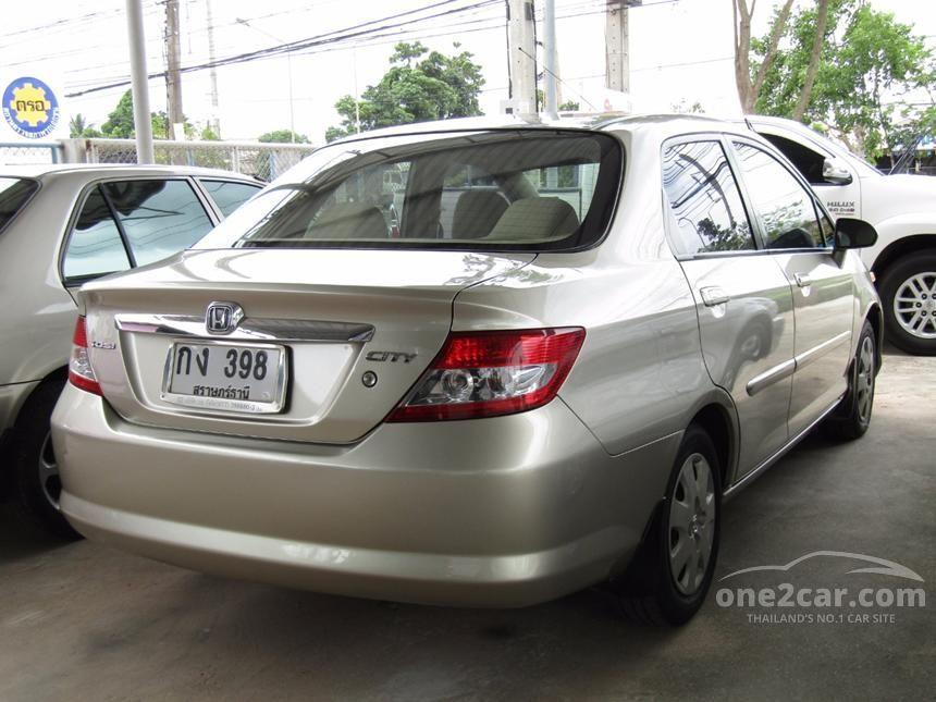 2003 Honda City A Sedan
