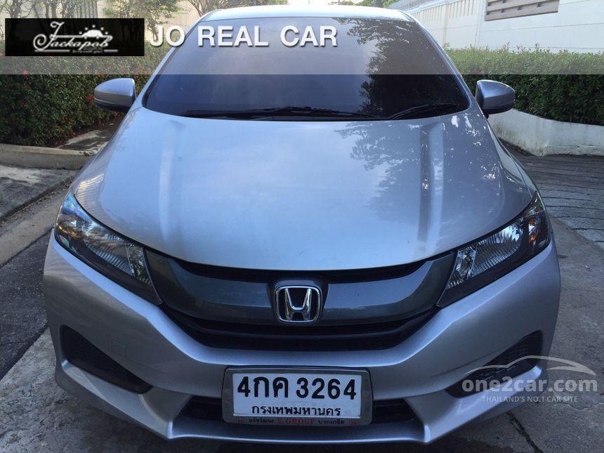 2015 Honda City S Sedan