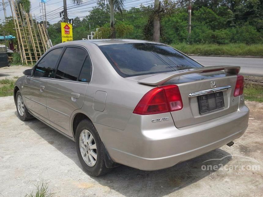2002 Honda Civic EXi Sedan