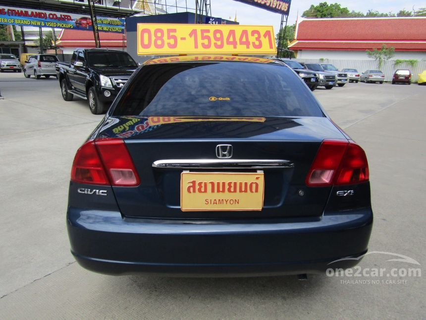 2001 Honda Civic EXi Sedan
