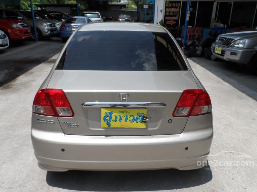 2005 Honda Civic VTi Sedan
