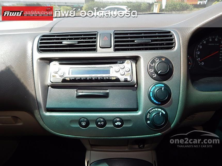 2001 Honda Civic VTi Sedan