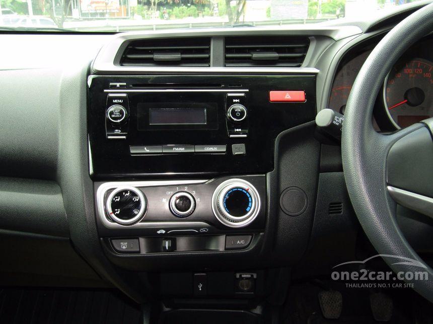 2015 Honda Jazz S Hatchback