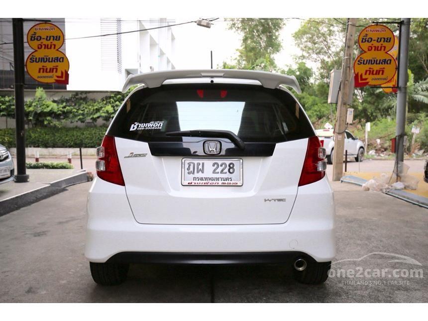 2008 Honda Jazz SV Hatchback