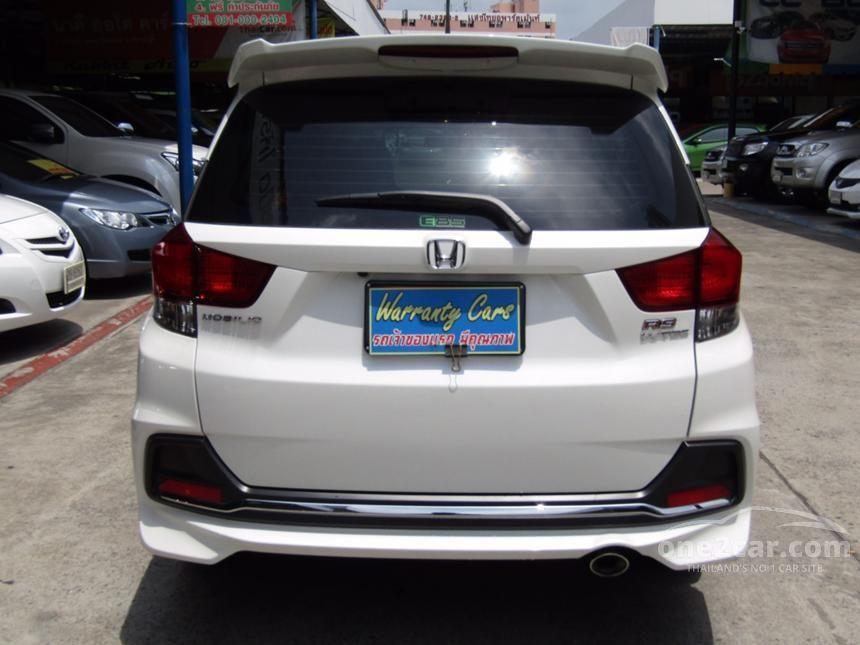 2016 Honda Mobilio RS Wagon