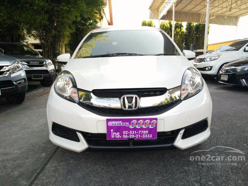 2015 Honda Mobilio S Wagon