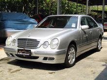 2001 Mercedes-Benz E200 Kompressor W210 (ปี 03-09) Elegance  2.0 AT