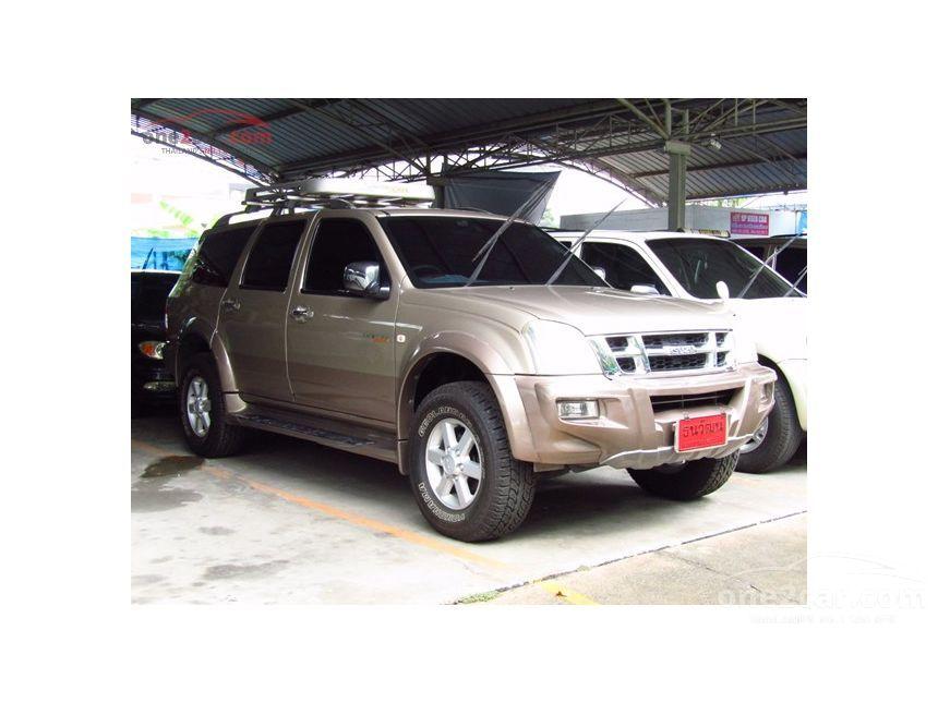 2004 Isuzu Adventure Master 4x4 Wagon