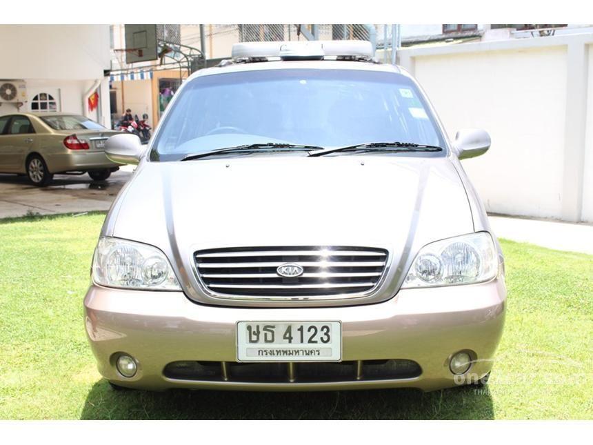 2004 Kia Carnival GS Wagon