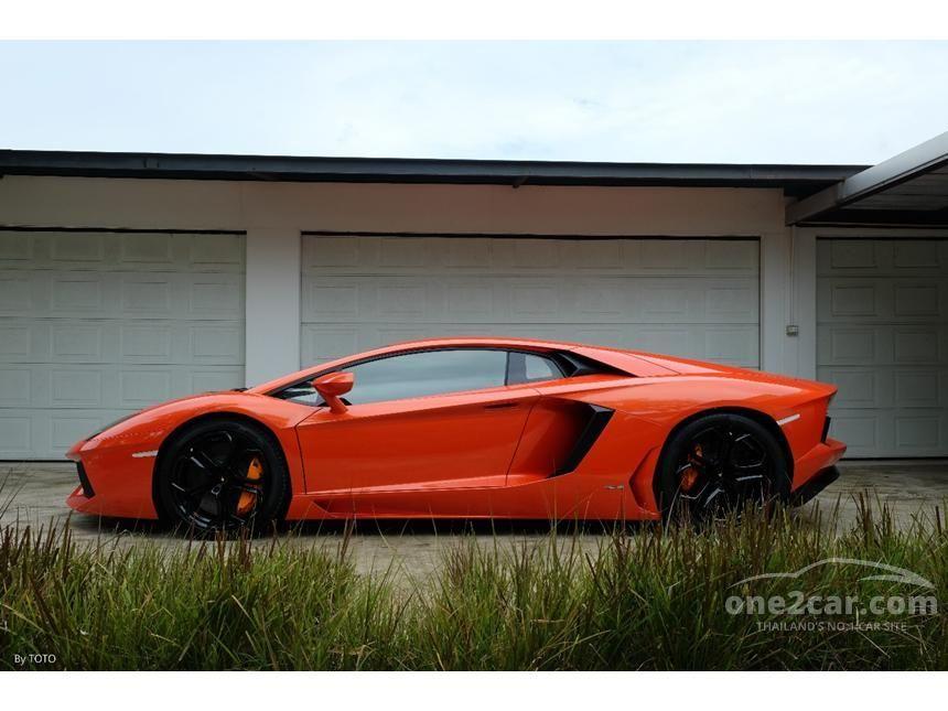 2013 Lamborghini Aventador LP700-4 Coupe