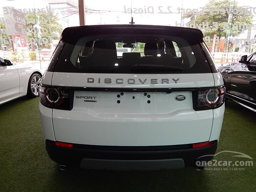 2016 Land Rover Discovery Sport SE SD4 Wagon