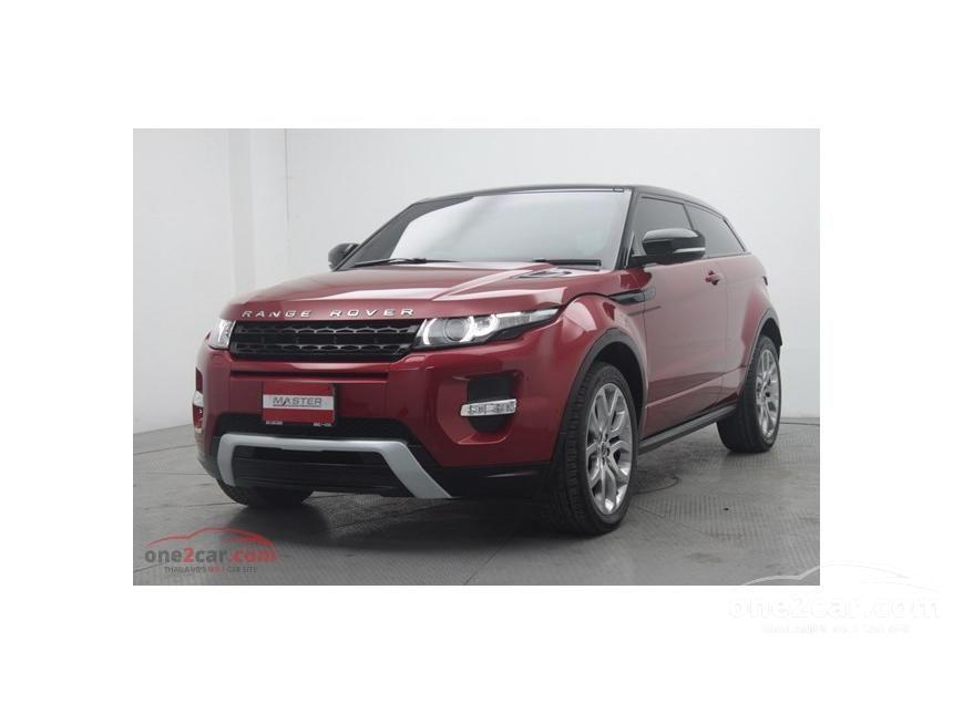 2012 Land Rover Range Rover Evoque SUV