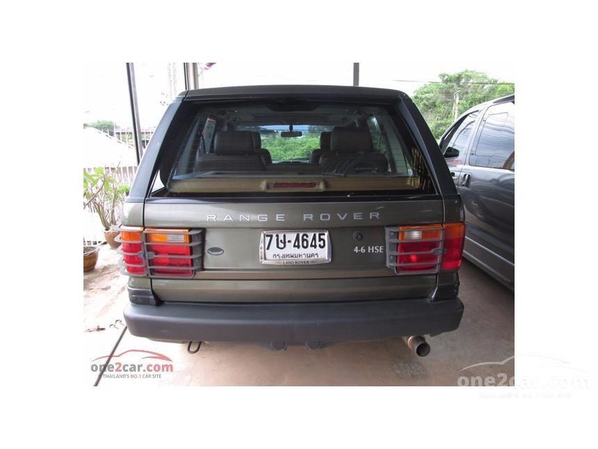 1996 Land Rover Range Rover V8i SUV