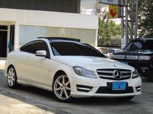 2013 Mercedes-Benz C180  AMG W204 (ปี 08-14) 1.6 AT Coupe