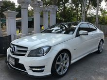 2012 Mercedes-Benz C180  AMG W204 (ปี 08-14) 1.6 AT Coupe