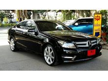 2012 Mercedes-Benz C180 BlueEFFICIENCY W204 (ปี 08-14) AMG 1.8 AT Coupe