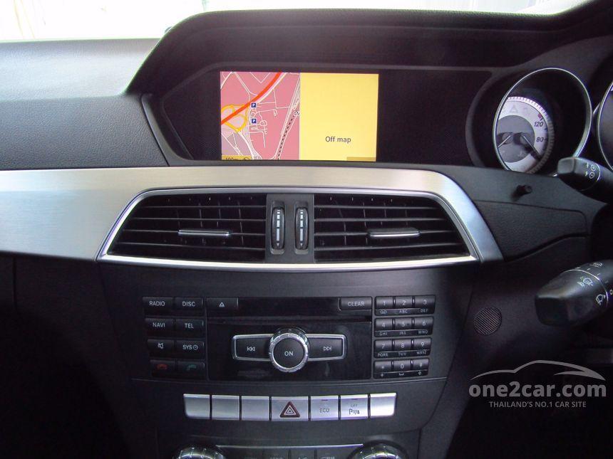 2012 Mercedes-Benz C180 Avantgarde Sedan