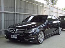 2012 Mercedes-Benz C180 BlueEFFICIENCY W204 (ปี 08-14) Avantgarde 1.8 AT Sedan