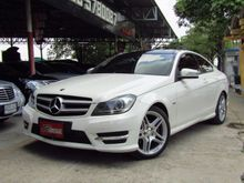 2013 Mercedes-Benz C180 BlueEFFICIENCY W204 (ปี 08-14) AMG 1.8 AT Coupe