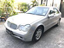 2001 Mercedes-Benz C180 W203 (ปี 01-07) Elegance 2.0 AT Sedan