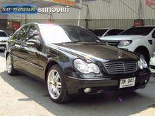 2002 Mercedes-Benz C180 W203 (ปี 01-07) Elegance 2.0 AT Sedan