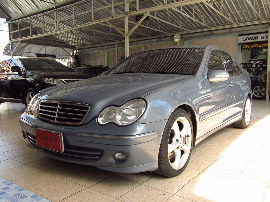2007 Mercedes-Benz C180 Kompressor Avantgarde Sedan